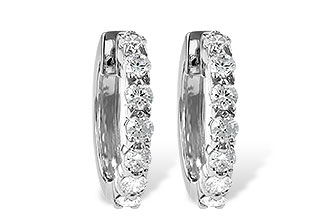 A001-30471: EARRINGS 1.00 CT TW