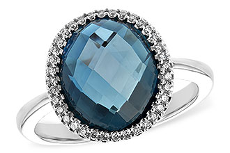 A189-47744: LDS RG 5.31 LONDON BLUE TOPAZ 5.45 TGW