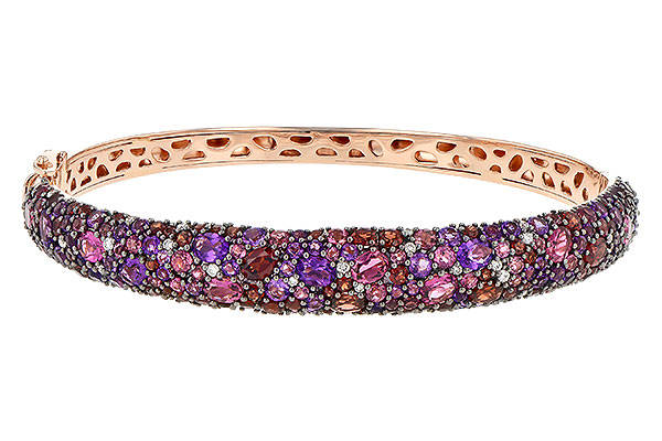 B190-39608: BANGLE 6.60 SEMI-PREC 6.85 TGW