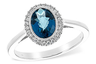 D189-46844: LDS RG 1.27 LONDON BLUE TOPAZ 1.42 TGW