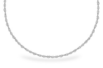 D273-15926: 1.5MM 14KT 18IN GOLD ROPE CHAIN WITH LOBSTER CLASP