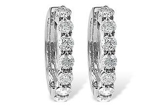 E001-30471: EARRINGS 2 CT TW