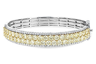 G189-48662: BANGLE 8.17 YELLOW DIA 9.64 TW