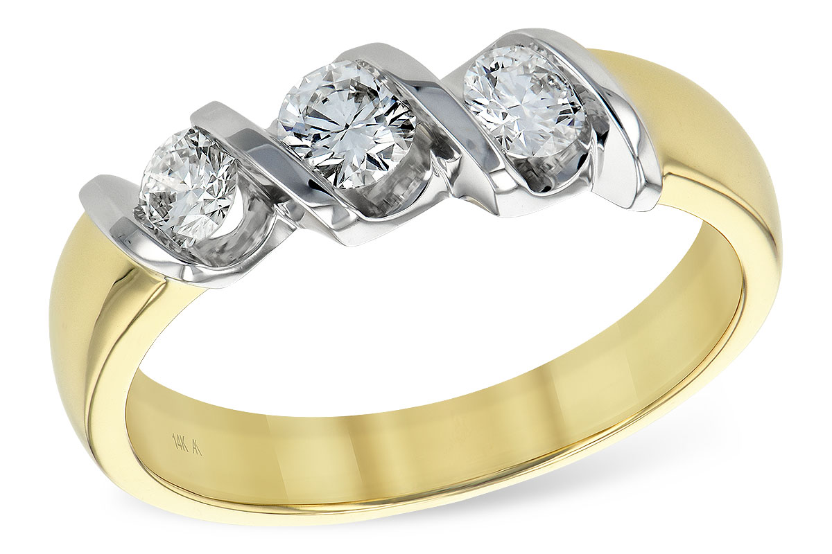 K093-15925: LDS WED RING .20 BR .50 TW